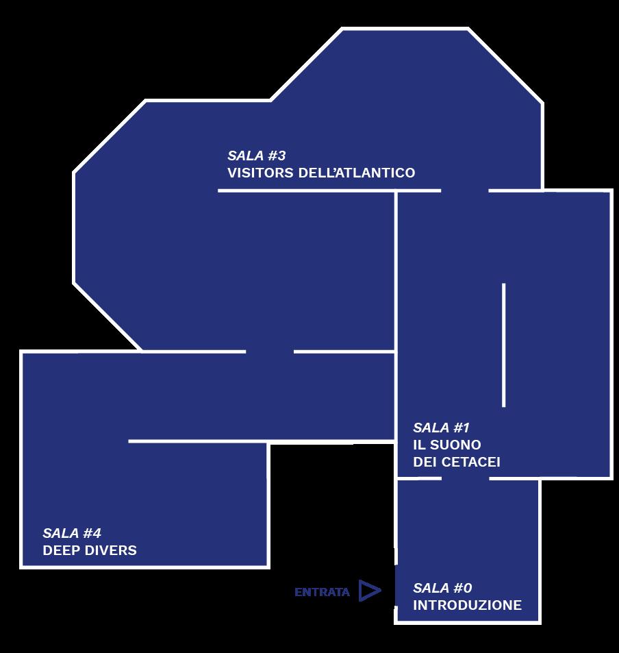 Mappa della mostra ECHO